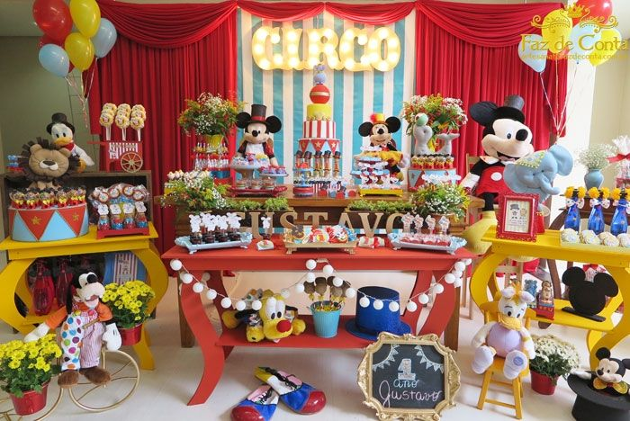 festa circo mickey gustavo
