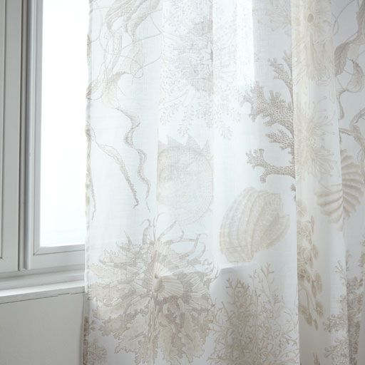 Image of the product Jellyfish printed curtain