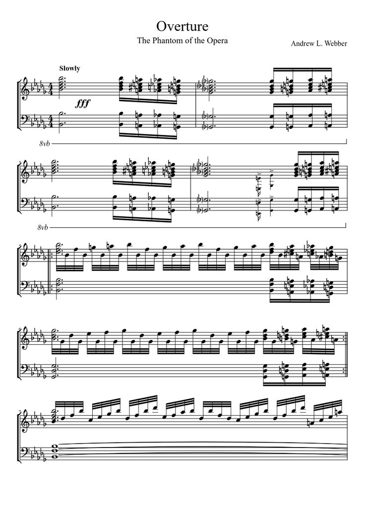 All Music Chords 1812 overture music sheet : Overture Music Symbol