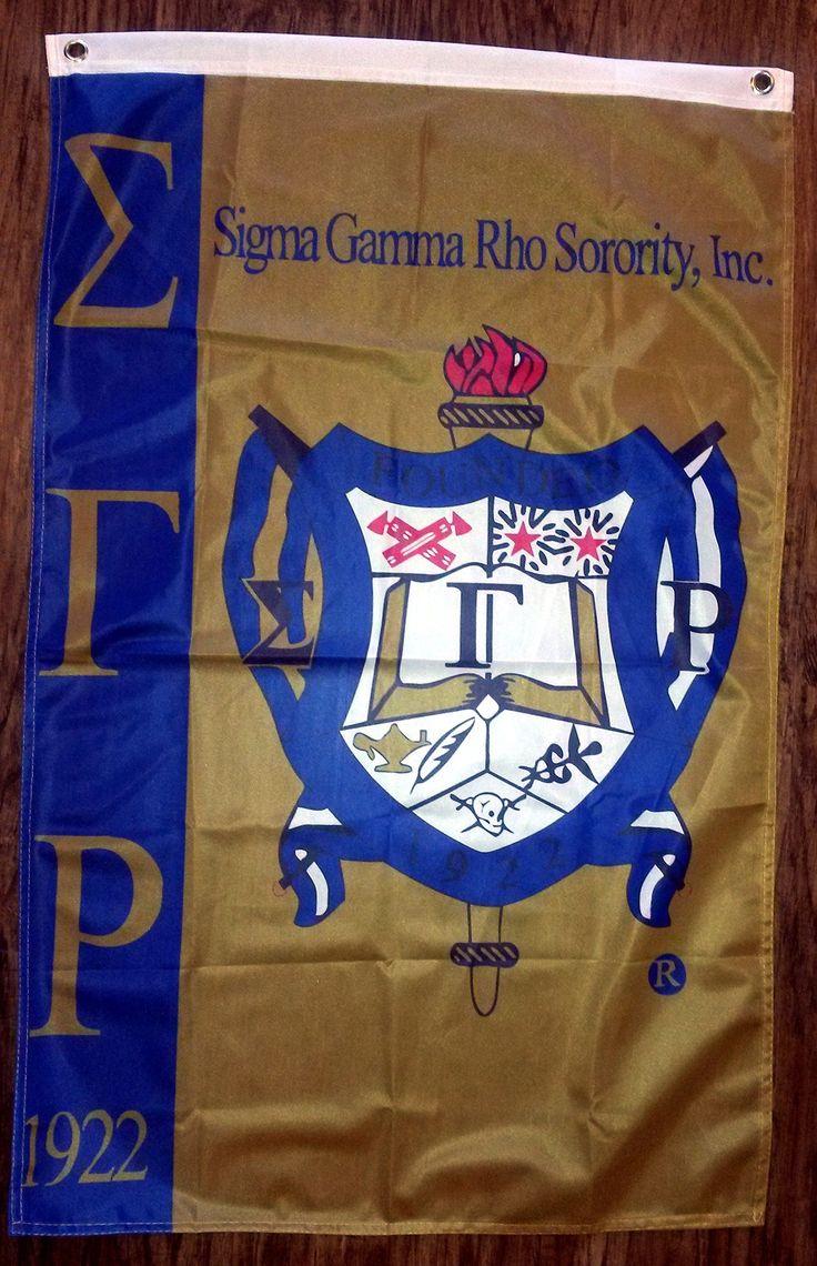 Sigma Gamma Rho flag