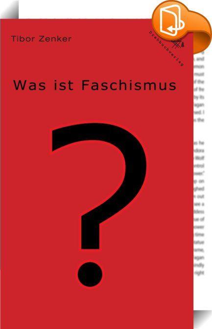 Was ist Faschismus?    ::  Was macht den Faschismus als besondere Herrschaftsform aus? Was ist sein historischer Platz? Welche Funktionen erfüllt die faschistische Diktatur, welche die faschistische Bewegung? Welcher besonderen Methoden bedient sich der Faschismus? Alle diese Fragen konzentrieren sich letztlich in jener nach dem spezifischen klassenmäßigen Ursprung, Charakter und Zweck des Faschismus innerhalb der bürgerlichen Klassenherrschaft. Mit der Antwort darauf ist letztlich auc...