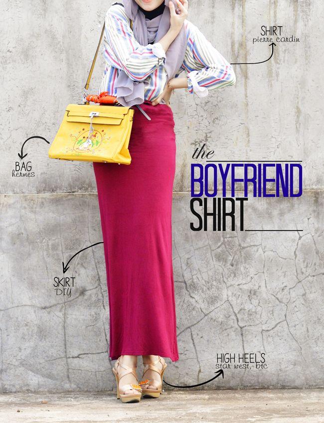 Boyfriend Shirt Hijab Style Pinterest Boyfriends Hijab Outfit And Hijabs