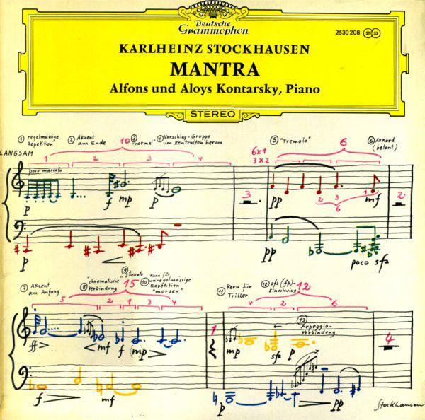Karlheinz Stockhausen - Alfons und Aloys Kontarsky* - Mantra (Vinyl, LP) at Discogs