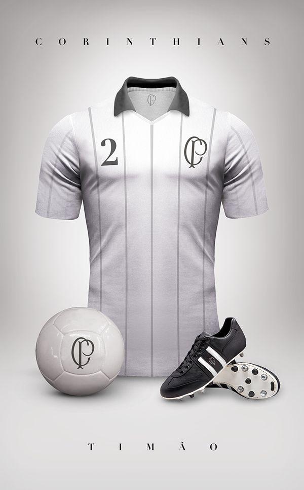 Corinthians estilo vintage