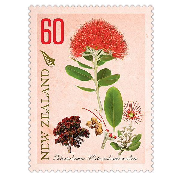 2012 New Zealand Native Trees | New Zealand Post Stamps