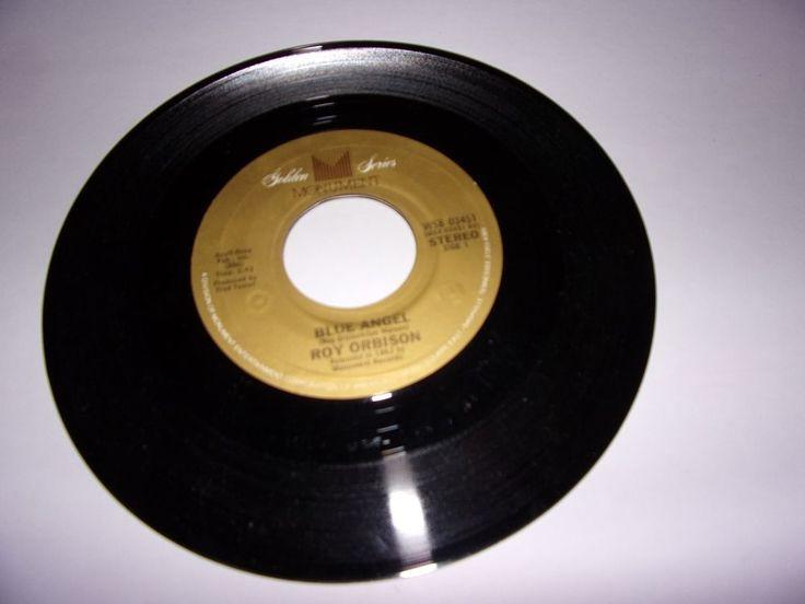 """45"""" Roy Orbison: Blue Angel / Paper Boy / Oldies / Jukebox / NM"""