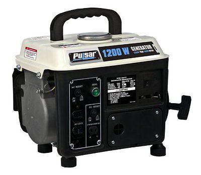 Generators 33082: Pulsar Pg1202s Gas Powered Generator, 1200-Watt Ouput , New, Free Shipping -> BUY IT NOW ONLY: $169.95 on eBay!