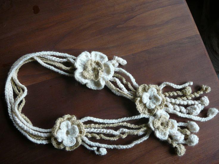 crochet neklace