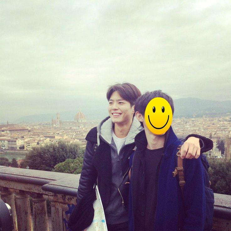 박보검 150100 유럽 여행 [ 출처 : 박보검 https://twitter.com/BOGUMMY/status/560754374310236162 ]