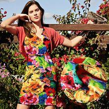 Zijde stretch charmeuse satijn zijde doek jurk overhemd materiaal impression bloemen(China (Mainland))