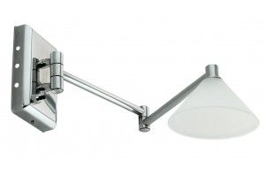 Domus Low Voltage Double Swing Arm With Switch Picture Light - Swing Arm LV