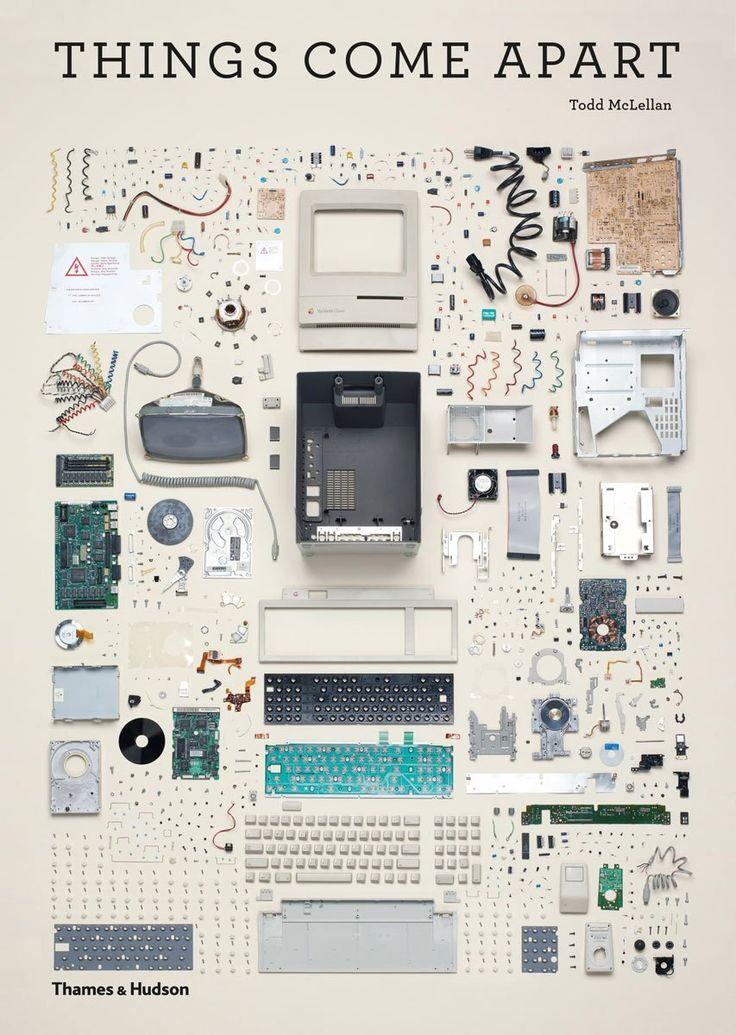 Things Come Apart A Teardown Manual for Modern Living Book • Selectism
