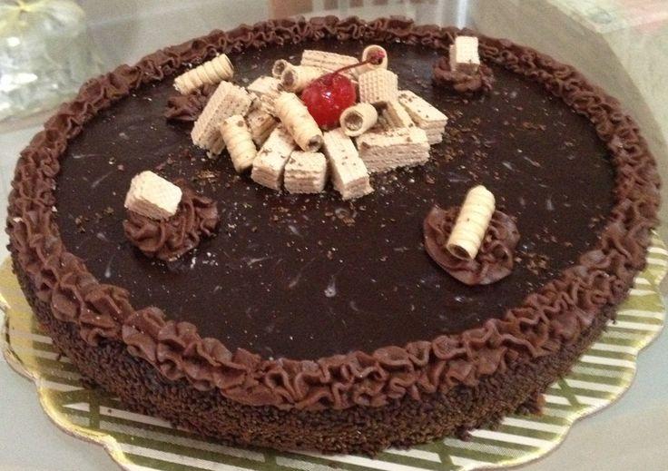 Tortas De Chocolate De Cereza en Pinterest | Glaseado De Pastel De ...