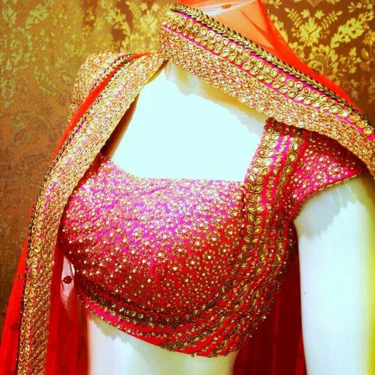 Gorgeous #Choli Blouse and Dupatta details