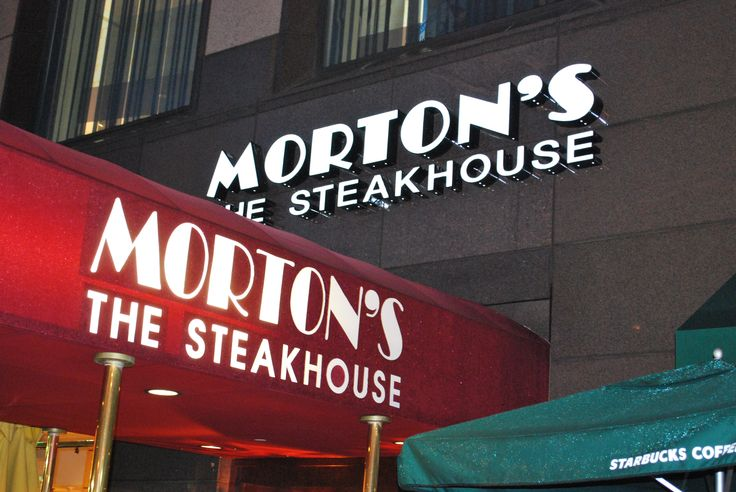 mortons steakhouse - GREAT steaks....GREAT food