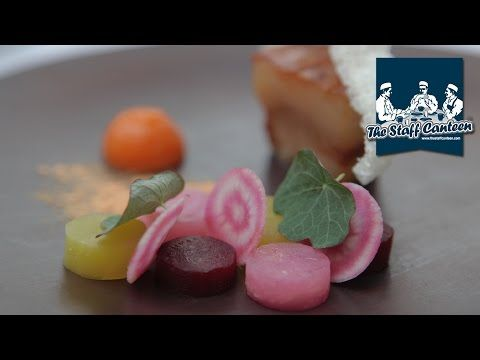 2-Michelin star chef Daniel Clifford cooks a pork dish and a chocolate and passion fruit dish - YouTube