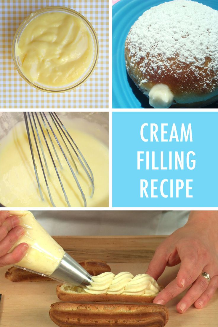 Cream filling recipe                                                                                                                                                                                 More