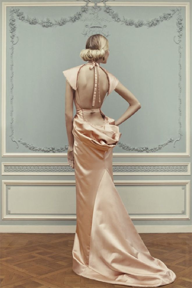 Ulyana Sergeenko Couture Summer 2013. I love the back of this dress