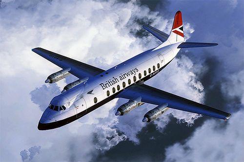 British Airways Vickers Viscount 806 G-AOYO