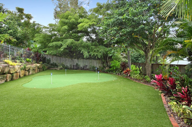 Landscaping Ideas Backyard Golf Course | Mystical Designs ...