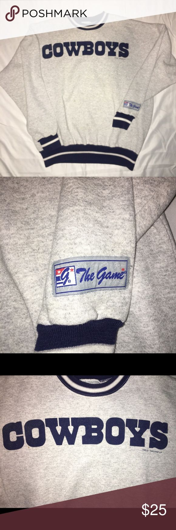 vintage 1993 Dallas Cowboys NFL football crewneck 1993 cowboys the game crewneck  size XL  super clean  follow on the gram @pa_soleking.610  i am always buying shoes please message me or dm me on the gram  all buyers who do not pay for their item will be blocked from my page   please make sure to look at all pictures before purchasing   if you want to offer make sure you can pay that offer or don't bother offering at all   payment is due within 3 days or unpaid case will be automatically…