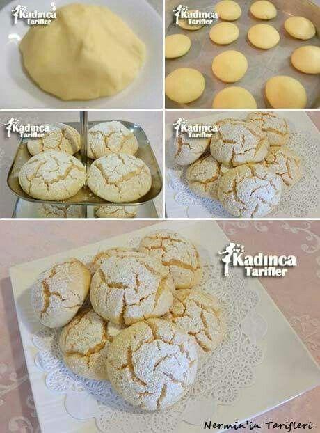 Muz aromalı kurabiye