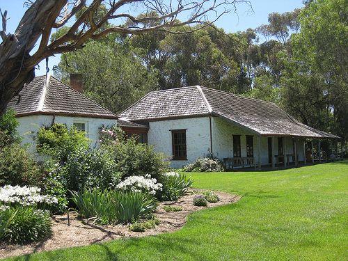 Emu Bottom Homestead is a historic homestead near Sunbury, in Victoria. Built around 1836, Emu Bottom is the oldest existing farmhouse const...