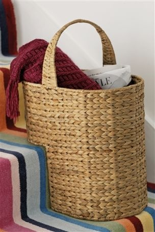 Is It Sad To Love A Stair Basket? Probably   But I Do!