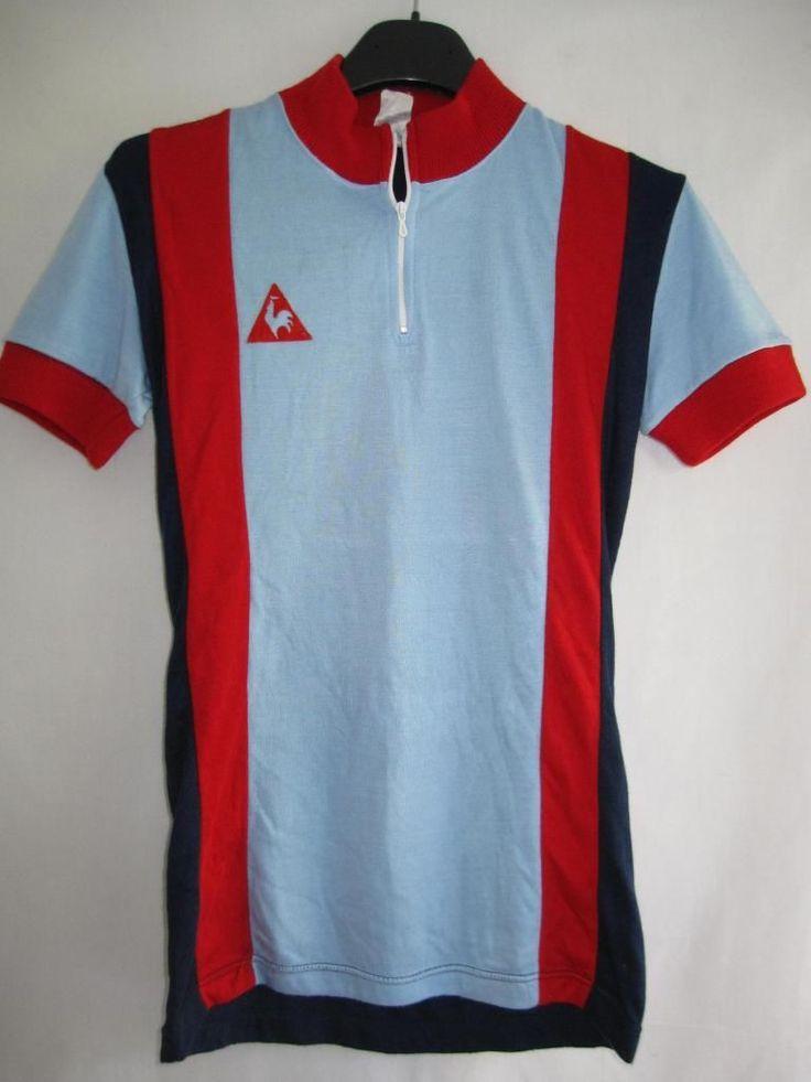 Maillot Cycliste Vintage LE COQ Sportif Made IN France Ancien TBE 0 XS   eBay