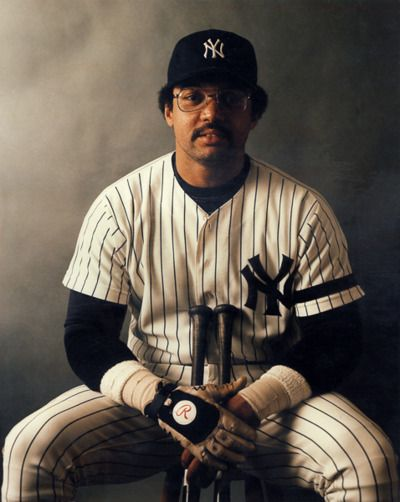 Reggie Jackson - The man who hit  3 home runs in the same World Series game off 3 different pitchers . This will never happen again !