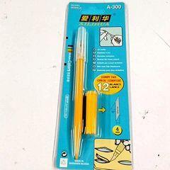 Внутренний маленький желтый черный любовь Оливер ручка ножа разделочный нож бумаги резиновый кирпича резиновый штамп резец телефон фильм бесплатная доставка