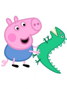 George Pig y Dinosaurio