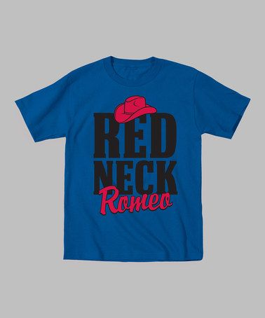 Look at this #zulilyfind! Royal Blue 'Redneck Romeo' Tee - Men by Country Casuals #zulilyfinds