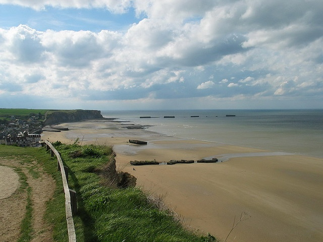 d day beaches in normandy france