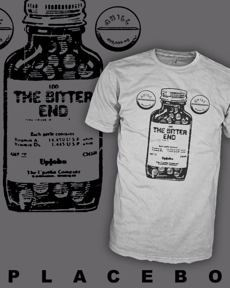 PLACEBO Band Shirt - Gothic Punk - Alternative Rock - Chill Pill T-Shirt - FREE SHIPPING by HipSoul on Etsy https://www.etsy.com/listing/208643110/placebo-band-shirt-gothic-punk