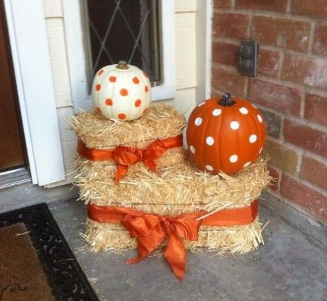 Pumpkins Arrangements For Fall Home Decor | ComfyDwelling.com