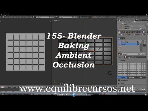 155- Blender -- Baking Ambient Oclusion