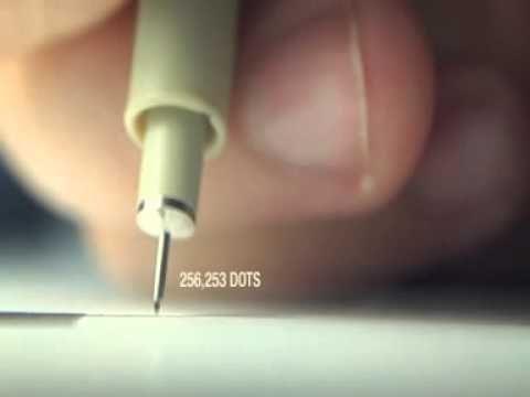 tecnica de puntillismo - YouTube
