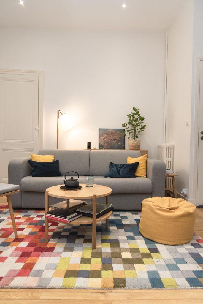 Design D Interieur Un Appartement En Location A Nantes En 2020 Interieur Design Decoration Appartement Decoration Interieure