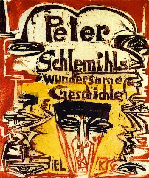 Peter Schlemihls Wundersame Geschichte , 1915 , by Ernst Ludwig Kirchner