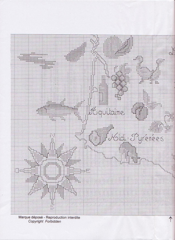 Culinary France Map 4/7