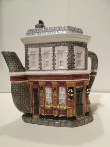 Queen Vic Eastenders novelty teapot