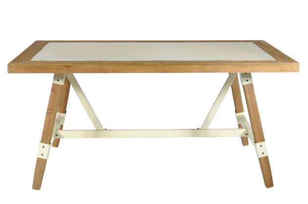 2Tone Dining Table only at Complete Pad ®