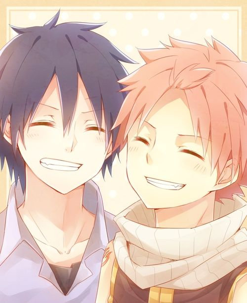 Fairy Tail Natsu And Gray Cute 50 best images ...
