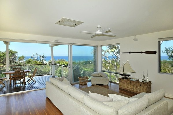 Party like a PM: Kevin Rudd's Noosa holiday home available for rent.