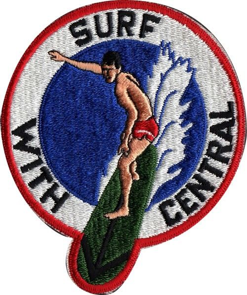 Vintage Surf with Central Patch