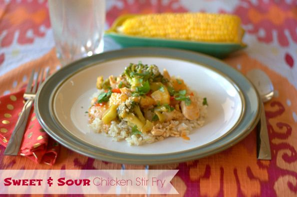 sweet amp sour chicken stir fry quick amp easy delicious and full of ...