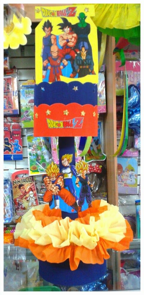 Mejores 9 im genes de dragon ball party ideas ideas for Decoration dragon ball