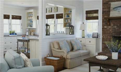 House tours a cottage style makeover cottage style for Cottage home decorations