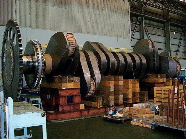 Kawasaki Heavy Industries Crankshaft